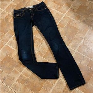 Hollister skinny jeans size women's 0
